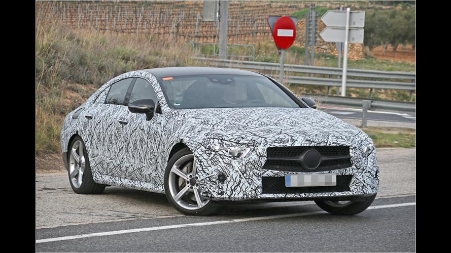 Erwischt: Neuer Mercedes CLS