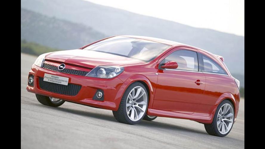 Opel Astra HPC: Studie eines Hochleistungs-Astra in Paris