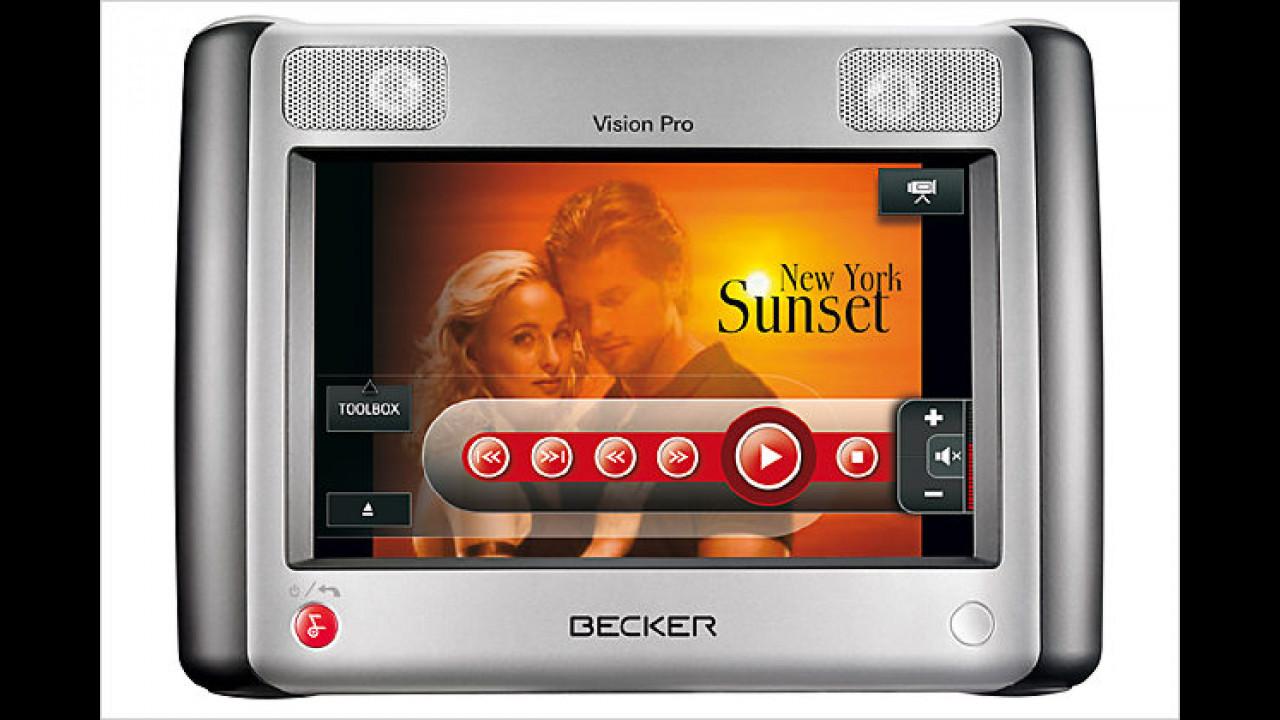 Becker Vision Pro: Filme zu Hause und im Auto