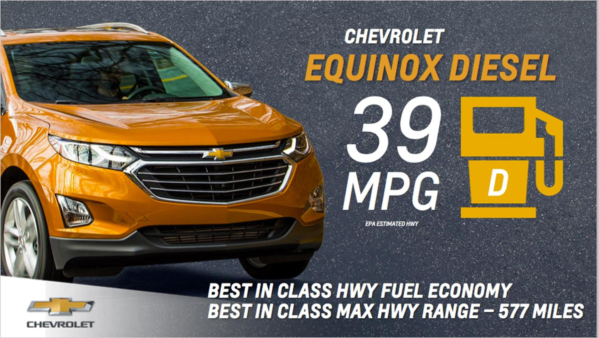 2018 chevy equinox diesel rated at 39 mpg highway. Black Bedroom Furniture Sets. Home Design Ideas