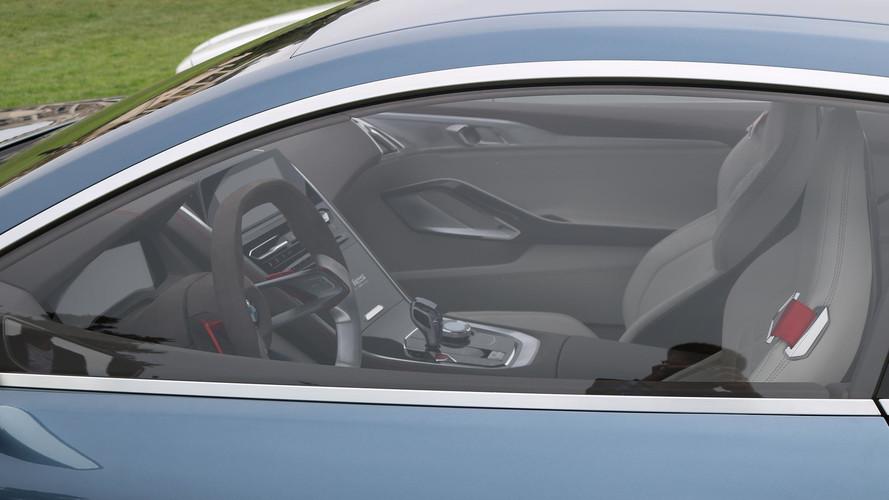 BMW 8 Serisi'nin iç mekanı görüntülendi