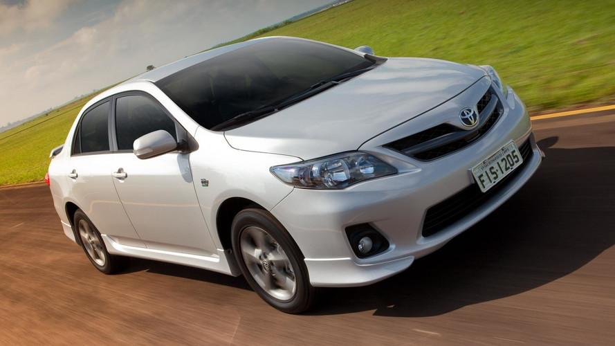 Toyota Corolla XRS tem 456 unidades em recall de airbag
