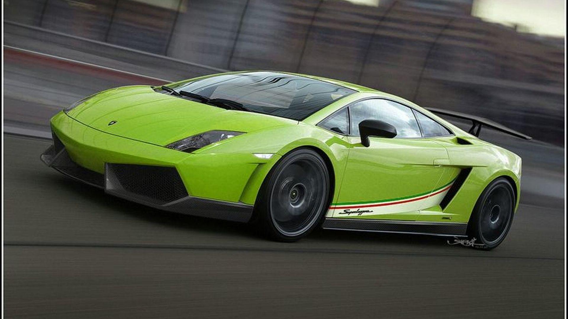 Lamborghini Gallardo LP570 4 Superleggera Further Details And Renderings  Surface