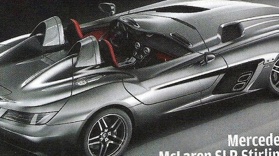 Mercedes SLR McLaren Stirling Moss scans leaked