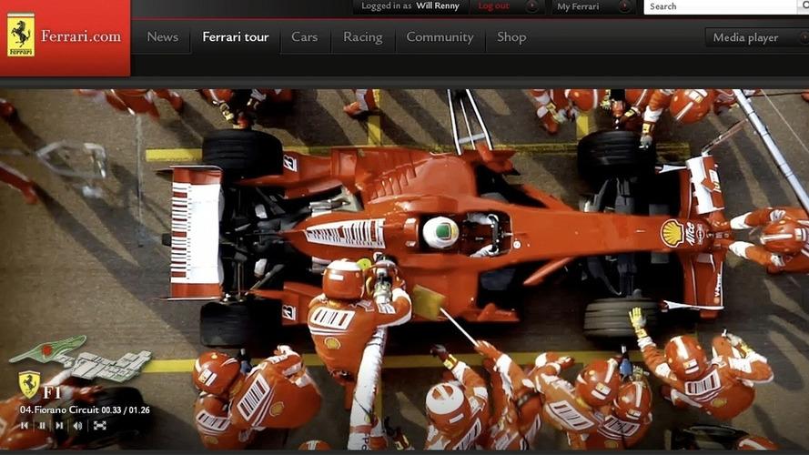 New Ferrari.com website to go live during first 2009 F1 Grand Prix season opener