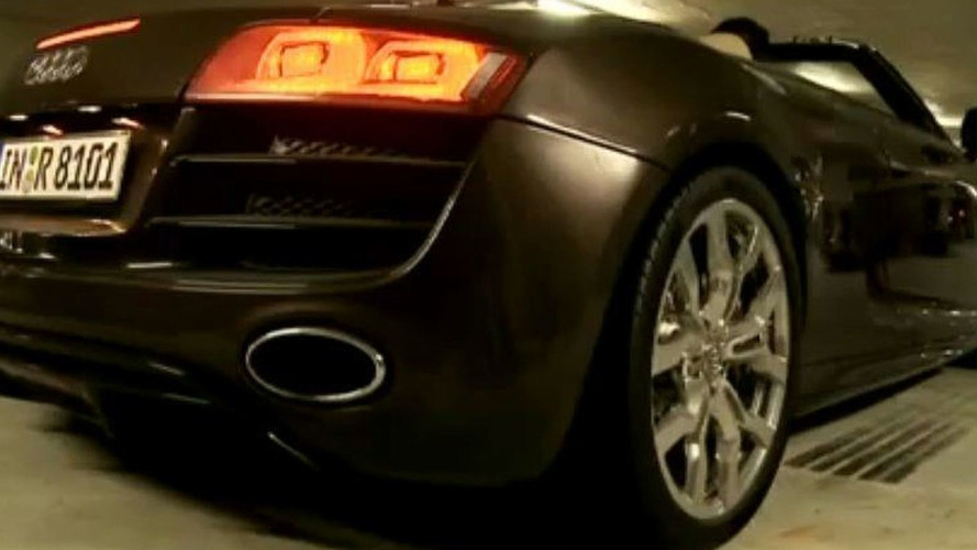 Audi R8 Spyder V10 with DTM Driver Mattias Ekström [Video]