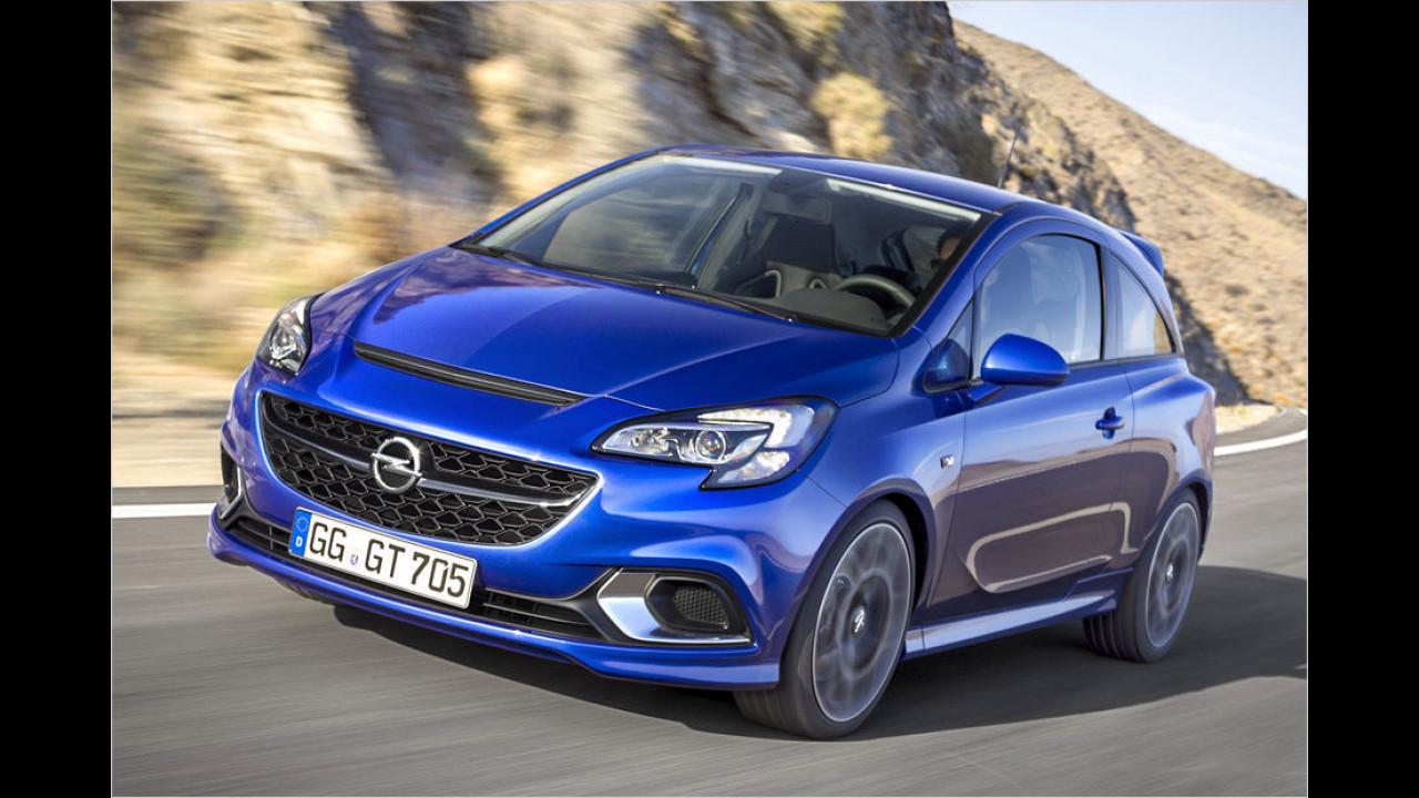 Opel Corsa OPC: 6,8 Sekunden