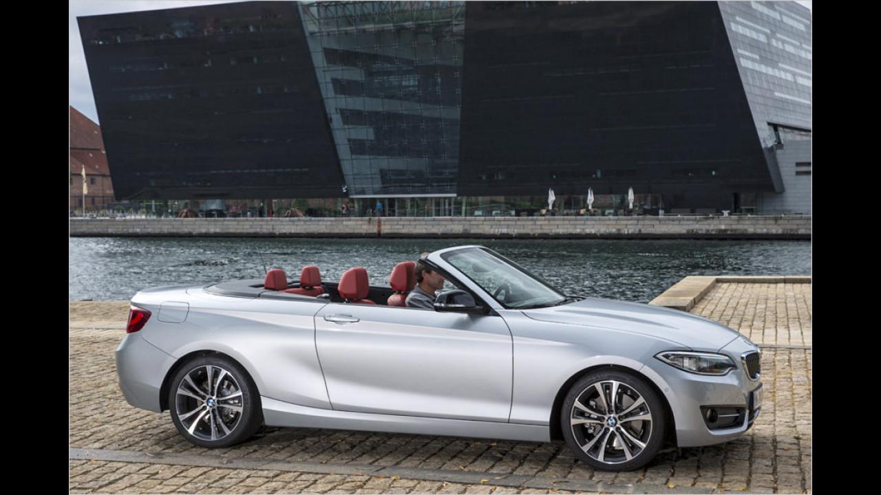 BMW 2er Cabrio (ab Februar)