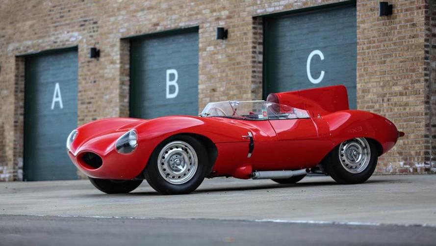 Subasta Jaguar D-Type, ¿buscas un ganador de Le Mans para tu colección?
