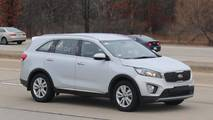 Kia Sorento Diesel Test Mule Spy Photos