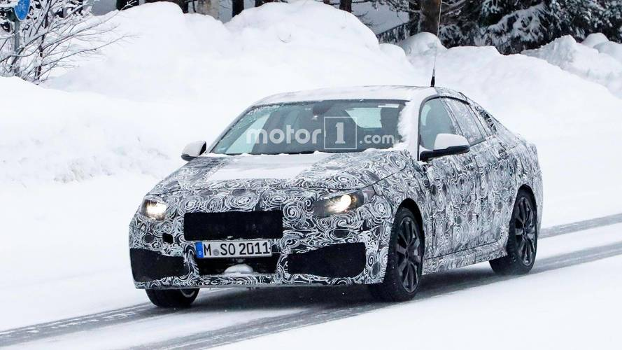 BMW 2 Gran Coupe - kémfotók