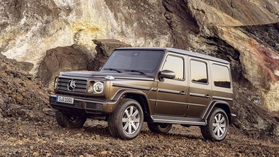 El Mercedes-Benz Clase G 2018 estrenará una mecánica turbodiésel