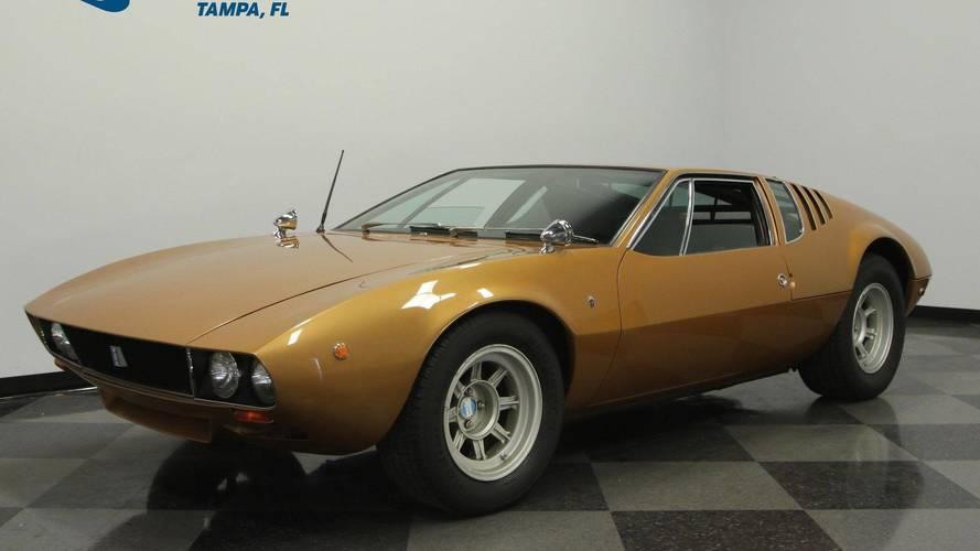 Low-Mileage 1969 De Tomaso Mangusta Demands $300,000