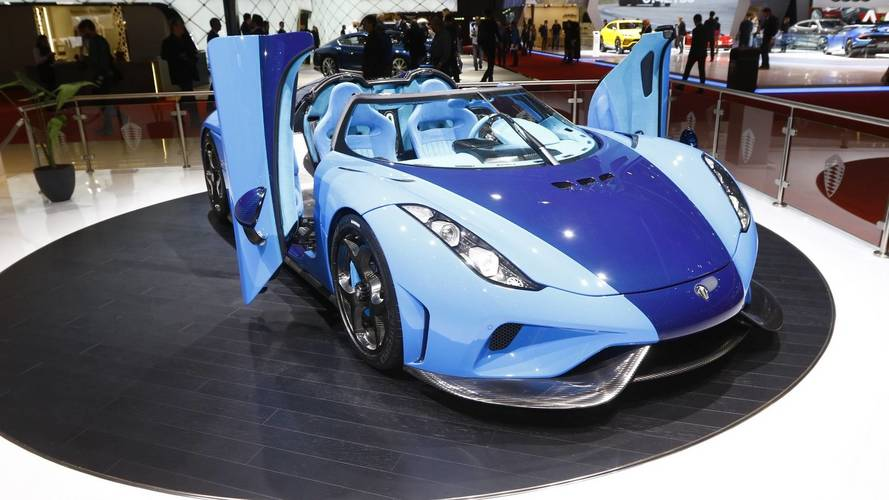 Koenigsegg at the 2018 Geneva Motor Show