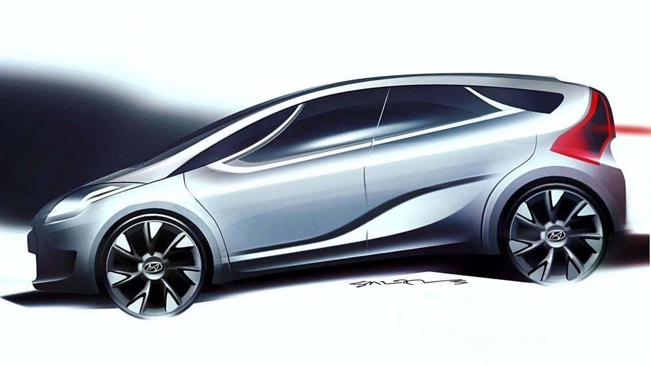 Hyundai HED-5 Concept design sketch