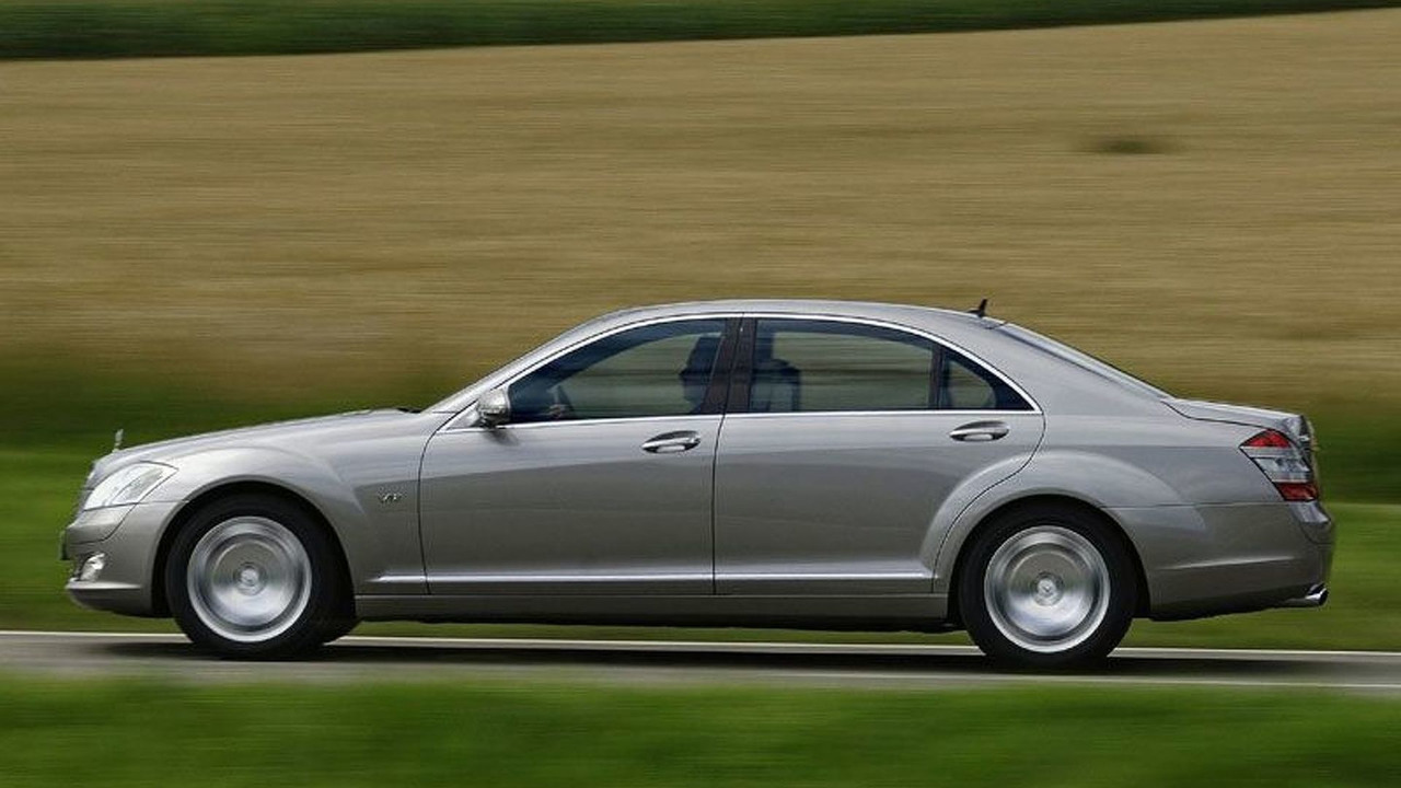 Mercedes S-Class S-Guard Special Protection Vehicle