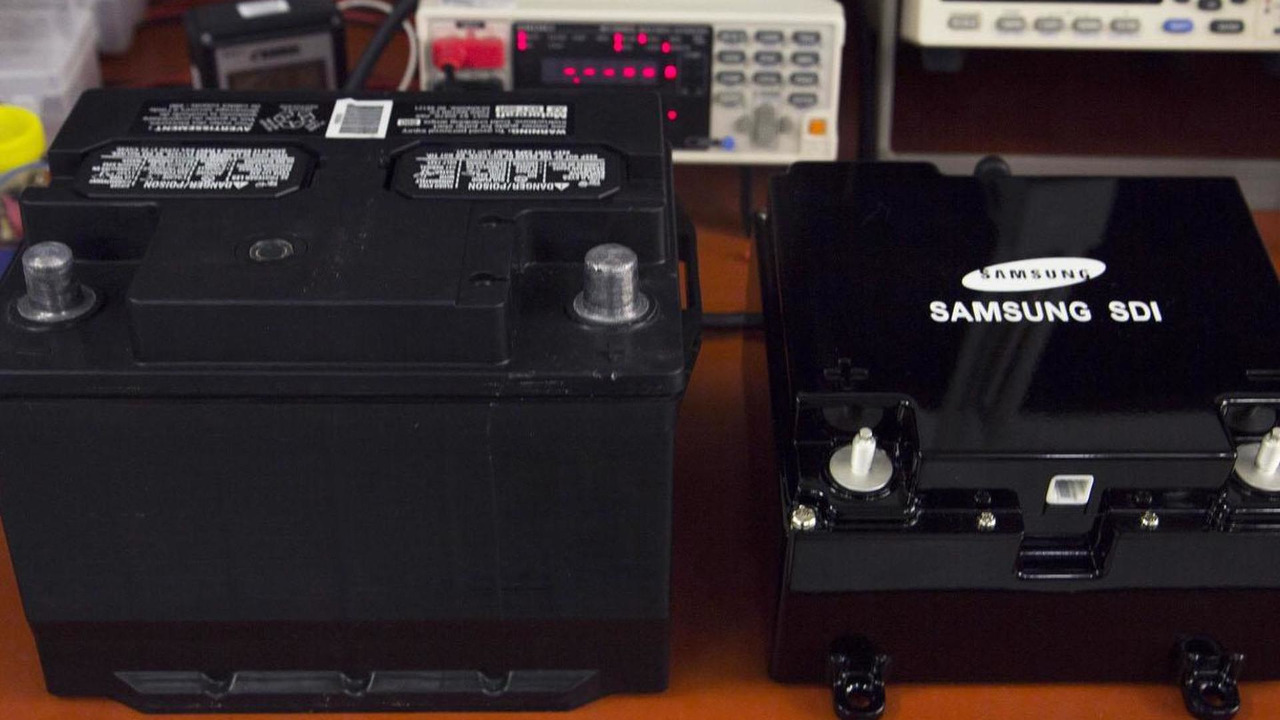 Ford & Samsung dual battery system