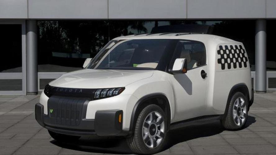 Toyota U2 concept unveiled
