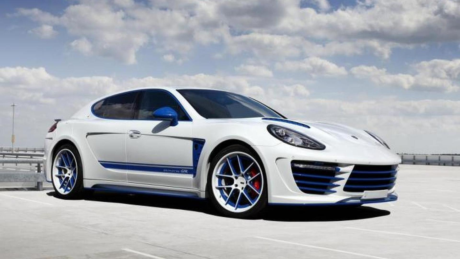 Porsche Panamera Stingray GTR Blue от TopCar