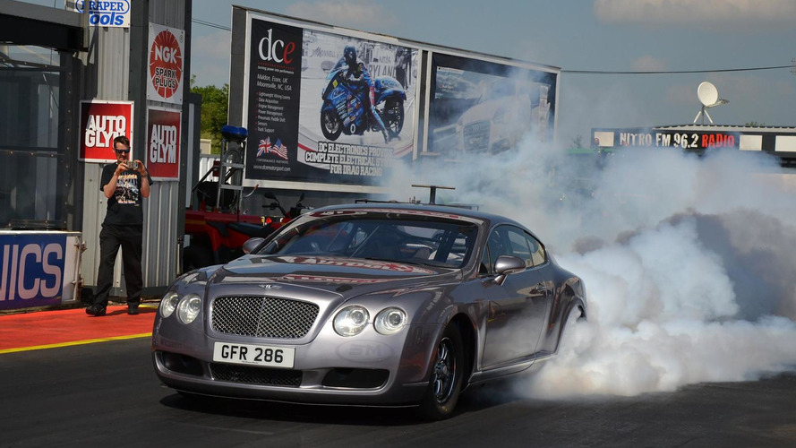 3,000 bhp Bentley Continental GT heading to Santa Pod Raceway for drag racing