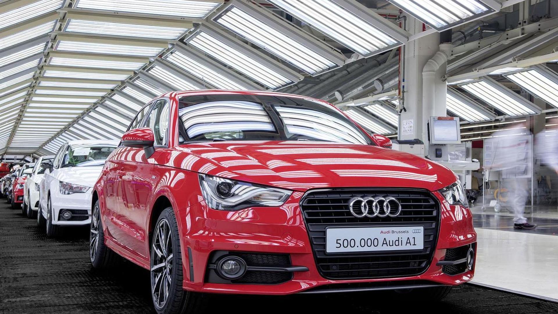 Фото | 500 000-я Audi A1. 2014 год