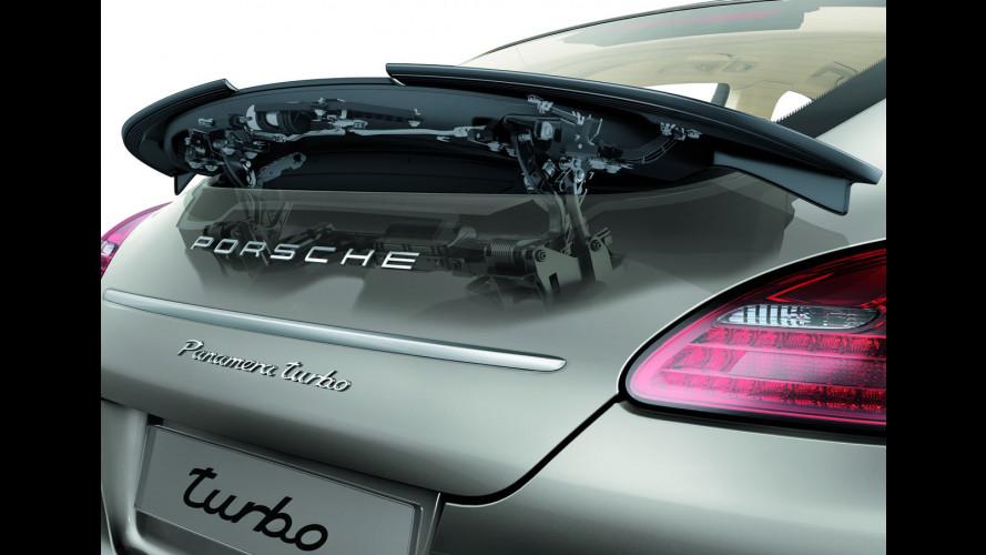 Porsche Panamera: motore e trasmissione