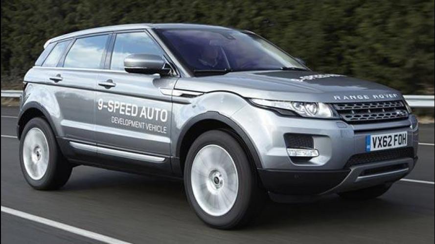 Un cambio a 9 marce per la Range Rover Evoque