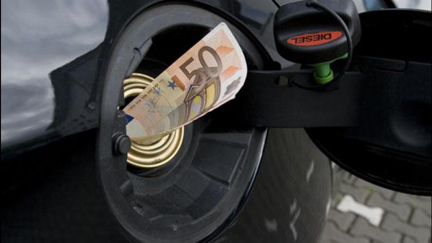 Carburanti auto, il gettito fiscale è ancora in calo