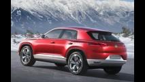Volkswagen Cross Coupé Concept será mostrado em Genebra com nova motorização híbrida