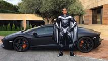 Cristiano Ronaldo Lamborghini Aventador