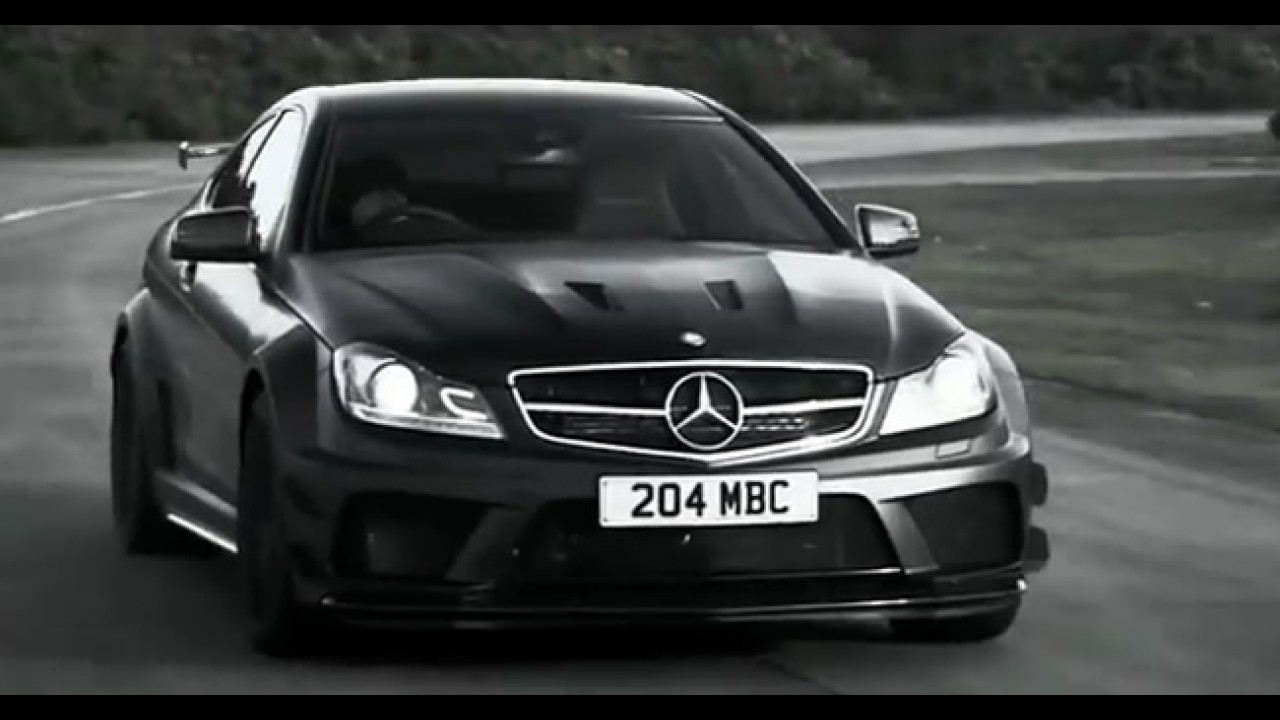 Vídeo: O lado negro do Mercedes C63 AMG Black Series