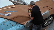 Jaguar CX-16 concept clay model 22.5.2012