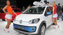 Volkswagen Winter Up concept live in Geneva 06.03.2012