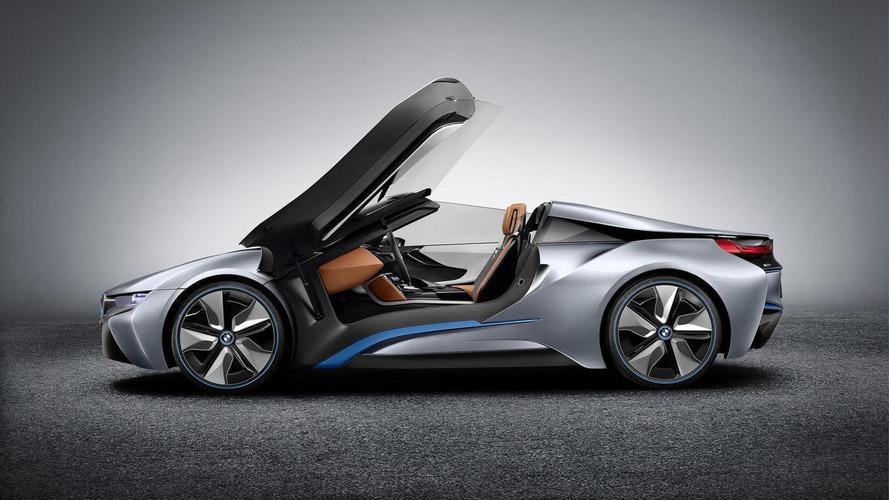 BMW i8 Spyder Concept videos released