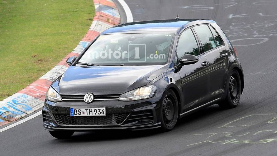 2020 VW Golf Spied Showing Off Cabin And Engine