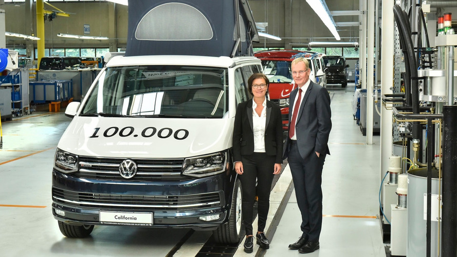 VW California 100,000th Example