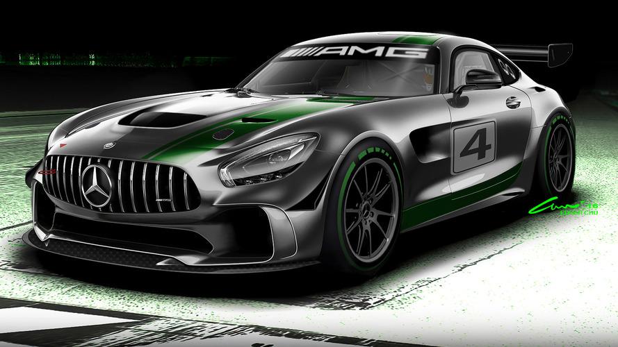 Mercedes-AMG'nin yeni yarış oyuncağı GT4'e merhaba deyin