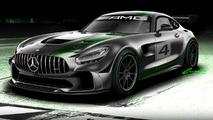Mercedes-AMG'nin yeni GT4 yarış aracı