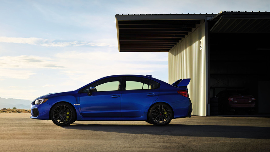 PHOTOS - La Subaru WRX STI s'offre une évolution à Détroit