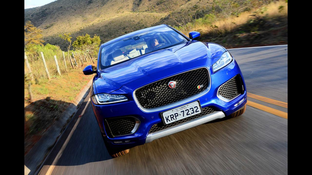 Jaguar coloca XE, XF e F-Pace em circuito fechado em SP para o público gratuitamente