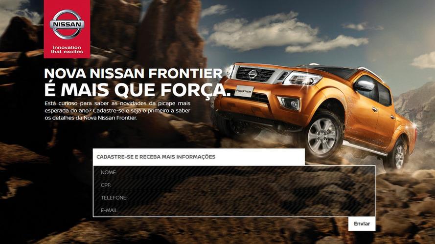 Nova Nissan Frontier já tem site no Brasil - estreia será em março