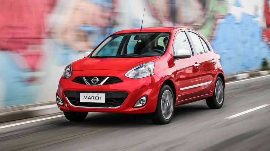 Nissan lança sensor de ré para March, Versa, Sentra e Frontier