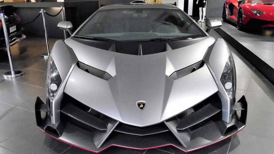 La Lamborghini Veneno débarque à Londres