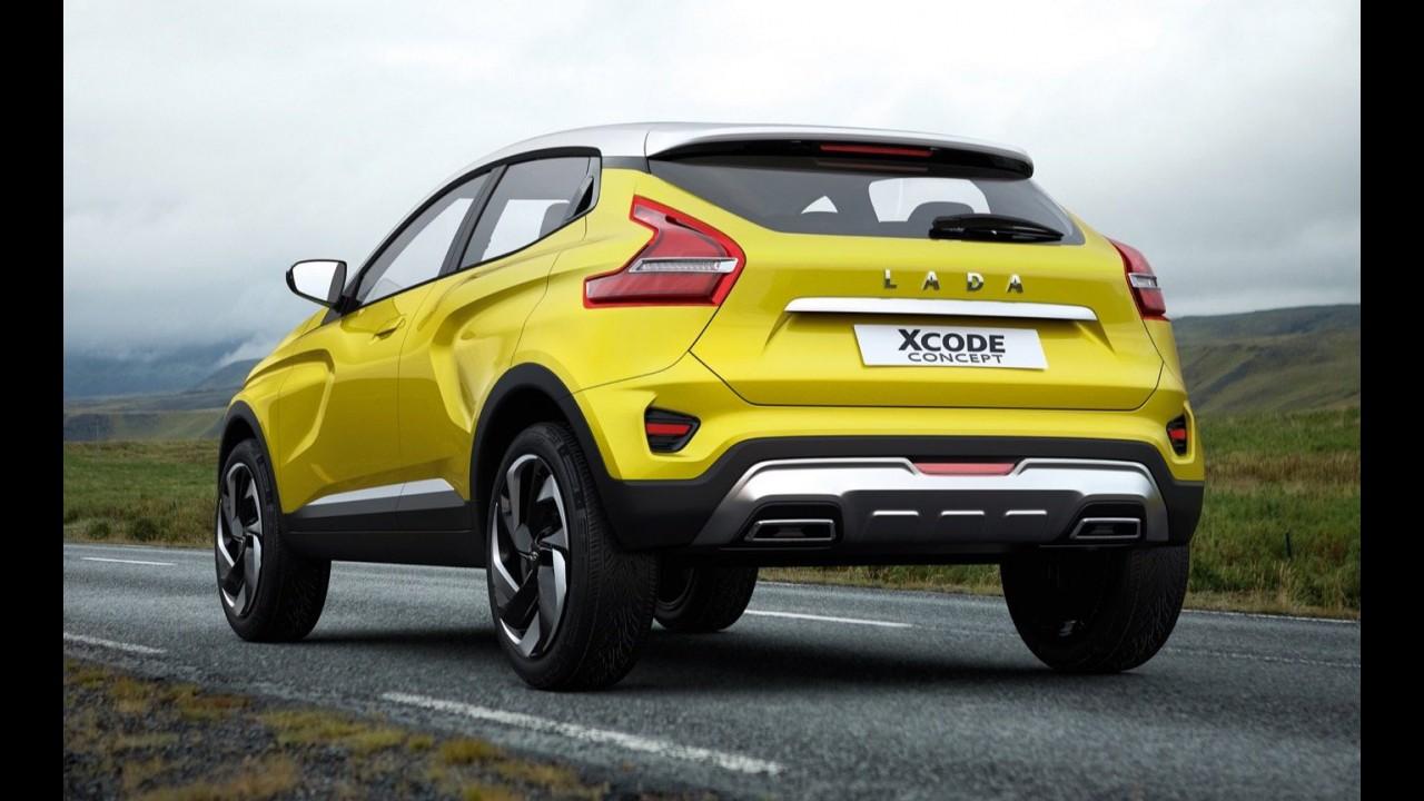 Lada Xcode Concept: rival russo do Honda HR-V aparece em primeiras imagens