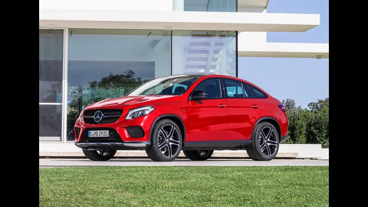 Mercedes anuncia tabela com novo GLE e Classe A até R$ 30 mil mais caro