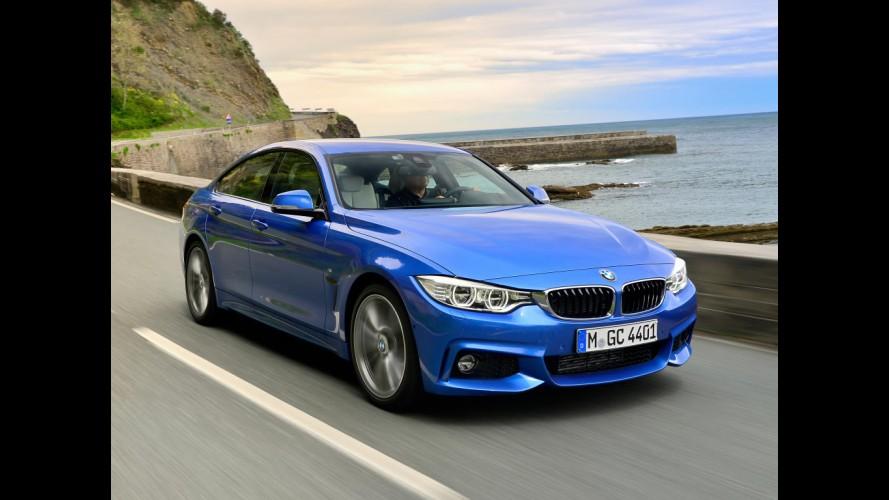 BMW mostra as 5 cores mais excitantes para o Série 4 Gran Coupé - vídeo