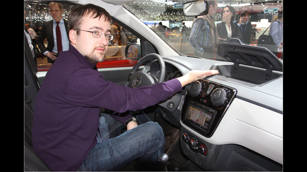 Genf 2012: Dacia Lodgy im Erstkontakt