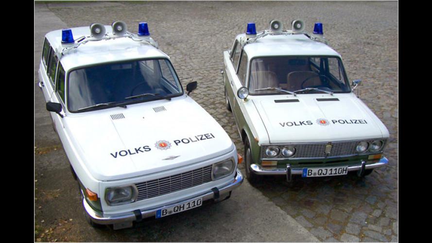 Die Polizei ruft: Volkspolizeiautos zum Mieten