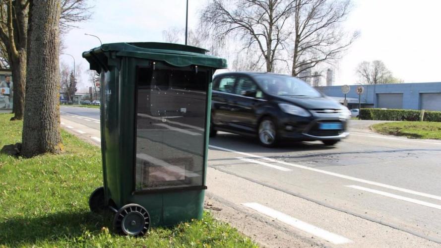 le radar cach dans une poubelle arrivera t il en france. Black Bedroom Furniture Sets. Home Design Ideas
