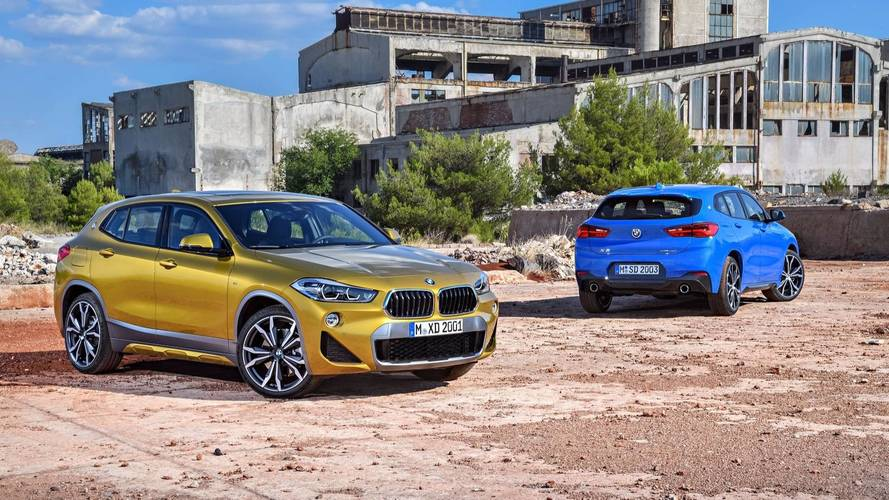 Cheaper BMW X2 Coming To U.S. With Front Wheel Drive